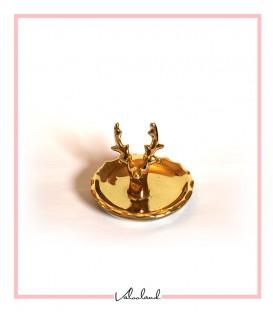 جاجواهری گوزنی طلایی