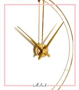 ساعت دیواری سیگنال طلایی متالیک