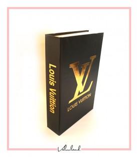 کتاب دکوراتیو مقوایی LV