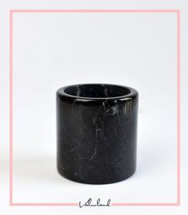 گلدان سنگی کوچک مشکی