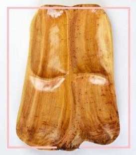ظرف مزه چوبی