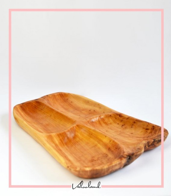 ظرف اردو خوری چوبی