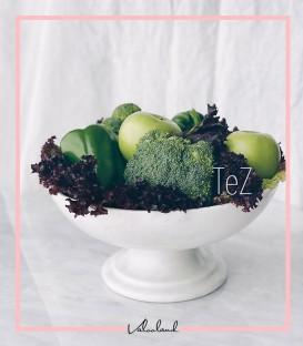 ظرف میوه سنگی