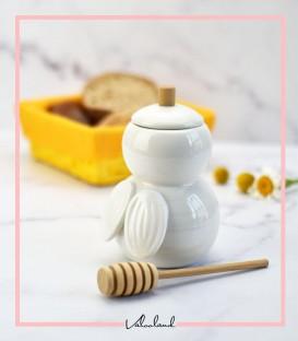 ظرف عسل خوری زنبور عسل
