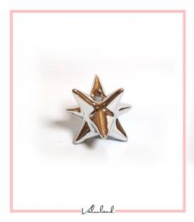 جاشمعی بلند ستاره ای نقره ای