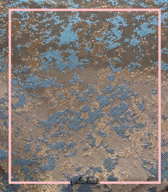 رانر زومیزی طوسی آبی دکوری