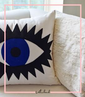 کوسن طرح چشم سفید