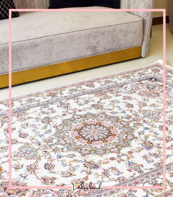فرش ماشینی شقایق با طرح شیک