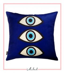 کوسن سه چشم آبی