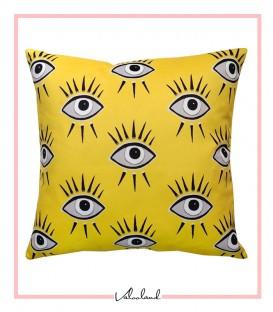 کوسن چشم آبی زرد