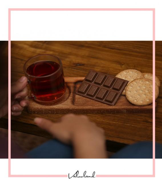 سینی چای چوبی
