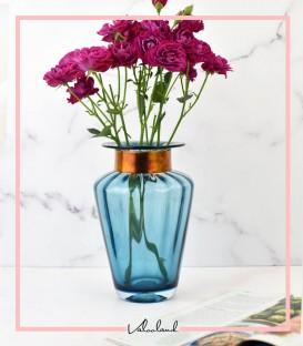 گلدان آبی یاسمن