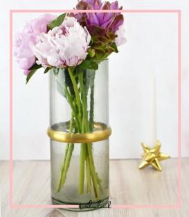 گلدان بلوری شفق