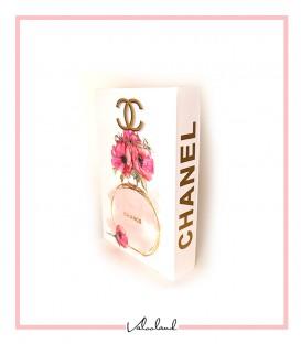 کتاب دکوراتیو مقوایی شنل Chanel