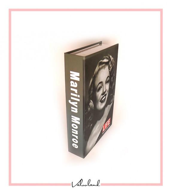 کتاب دکوراتیو مقوایی مرلین مونرو