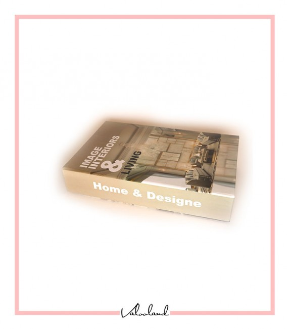 کتاب دکوراتیو مقوایی home & design