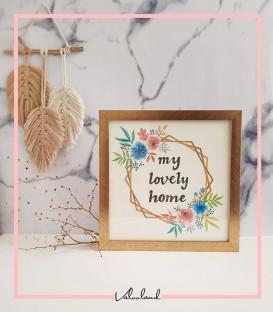 تابلو دکوراتیو خانه دوست داشتنی