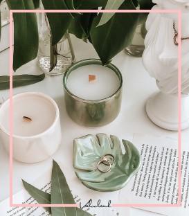 شمع سرامیکی سبز