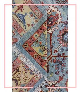فرش دستبافت سلطان آباد سبک عرسین کد 715