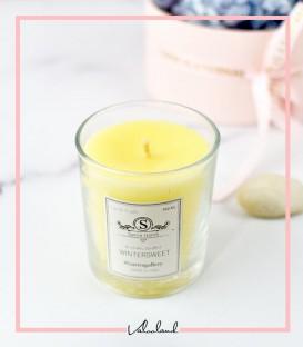 شمع لیوانی معطر زرد