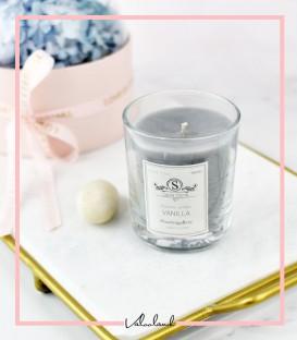 شمع لیوانی معطر طوسی
