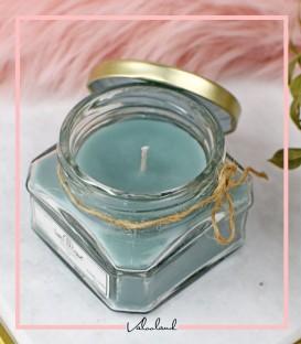 شمع لیوانی معطر سبز 150 میل