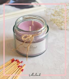 شمع لیوانی معطر بنفش 280میل