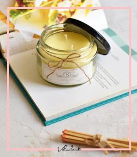 شمع لیوانی معطر زرد 210میل