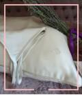 روبالشتی ابریشم سفید
