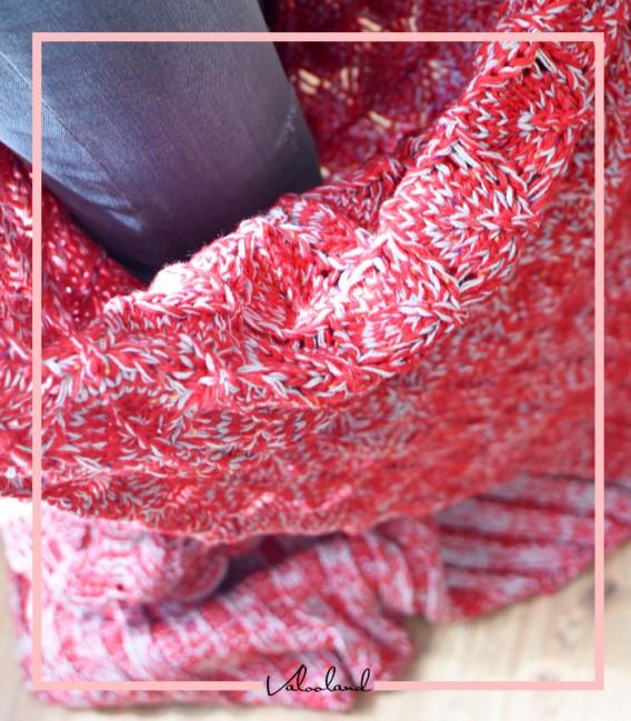 شال مبل مدل پری دریایی رنگ قرمز