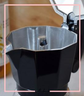 موکاپات دو کاپ مشکی نقره ایی برند موکا