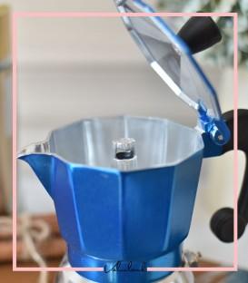 موکاپات دو کاپ آبی نقره ایی برند موکا