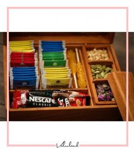 جعبه چایی با باکس دمنوش