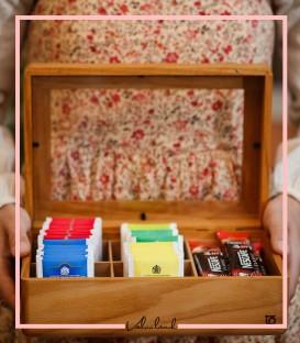 جعبه چایی ساده
