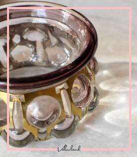 ظرف شکلات خوری شیشه ای نغمه