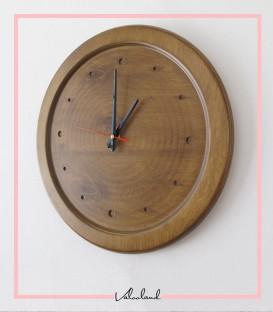 ساعت دیواری ماهانا چوبی
