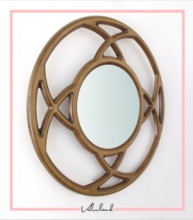 آینه دایره ای شب بو