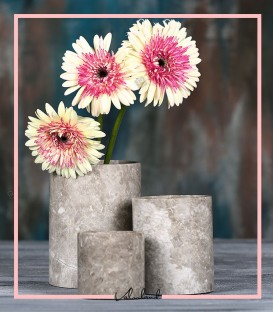 ست گلدان سنگی دکوری