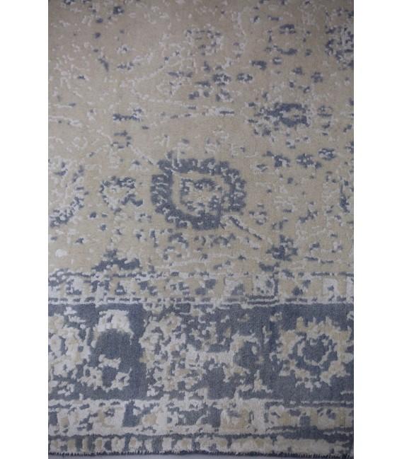 فرش 2.17 متری مدرن دستباف نقشه صفوی