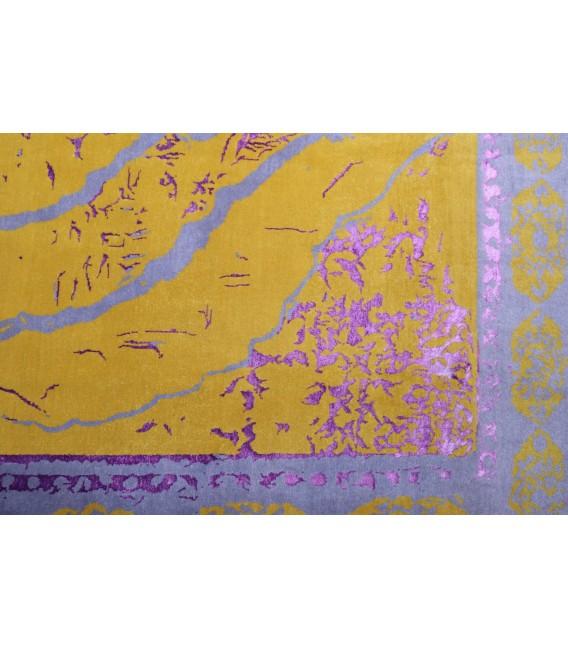 فرش مدرن ۳/۲۴ متری دستبافت تبریز - ترنج