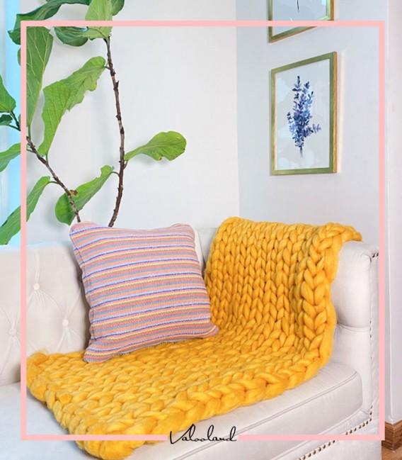 شال مبلی چانکی زرد