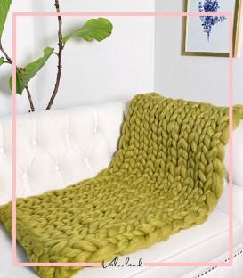شال مبلی چانکی سبز