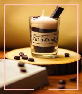 شمع شات شکلاتی کیت کت و قهوه