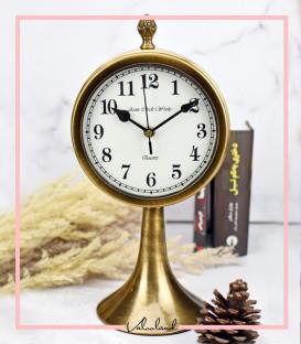 ساعت رومیزی با پایه طلایی اریکا