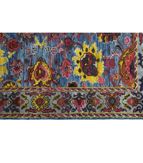 فرش دستبافت 3.39 متری سلطان آباد با پشم آنتیک