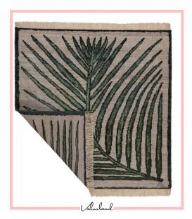 فرش دست بافت مربعی 1.65 متری سلطان آباد سبک عرسین