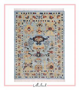 فرش دستبافت 1.61متری سلطان آباد نقشه پروانه