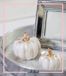 شمع تزیینی طرح کدو تنبل