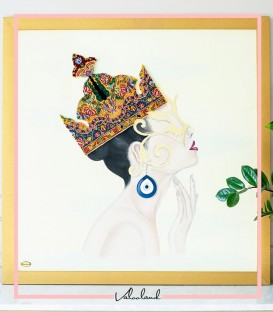 تابلو ملکه پروشات