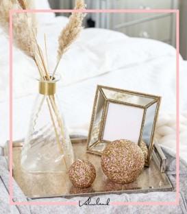 قاب عکس رومیزی طلایی سانلی